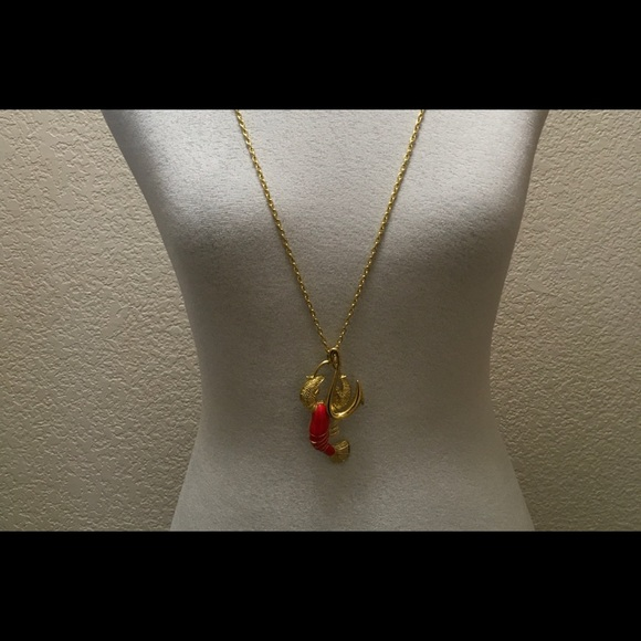 Lilly Pulitzer Butter Me Up Lobster Necklace